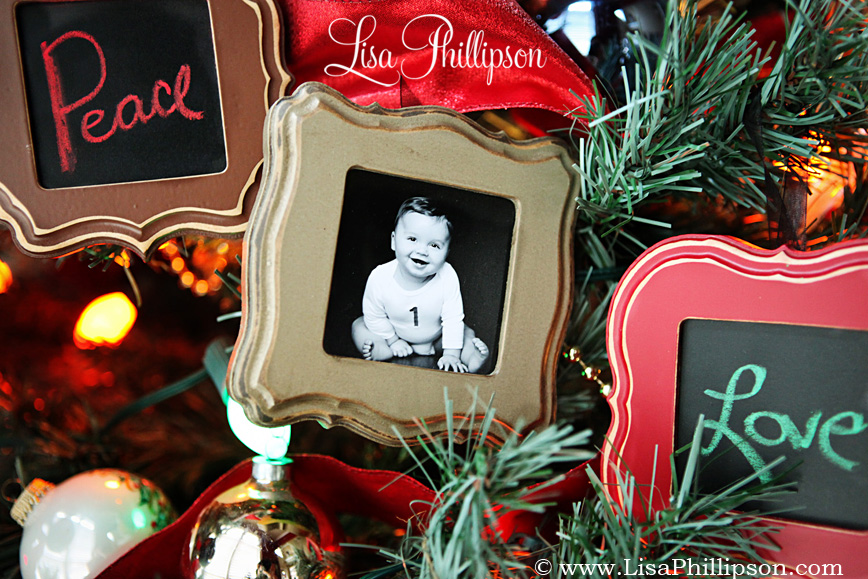 Christmas Tree Ornaments Picture Frames : Ideas about christmas ornaments frames easy diy